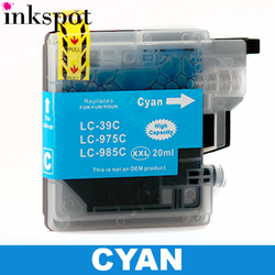 Brother Compatible LC39 Cyan