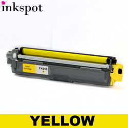 Brother Compatible TN255 Yellow Toner