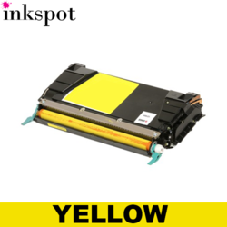Lexmark Compatible C734 Yellow Toner