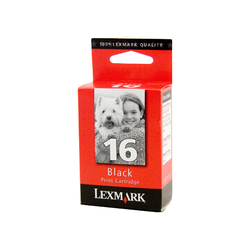 Genuine Lexmark 16 Black
