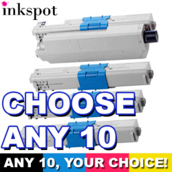 OKI Compatible C301 Toner 10 Pack