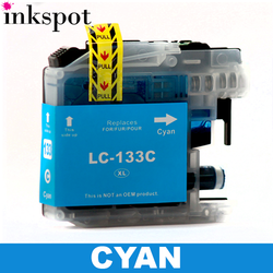 Brother Compatible LC131/LC133 Cyan