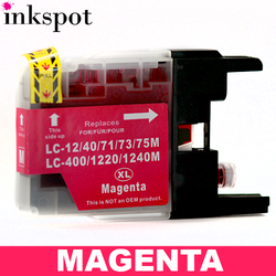 Brother Compatible LC40/LC73/LC77 Magenta