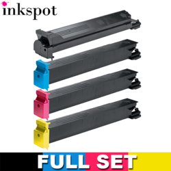Konica Minolta Compatible TN213 (A0D7122-A0D7322) Value Pack