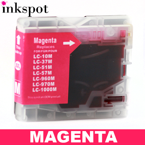 Brother Compatible LC57/LC37 Magenta